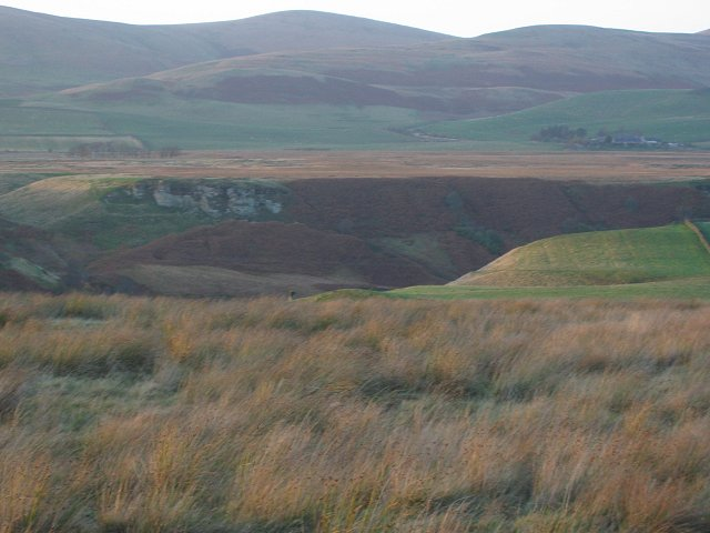Edge of Auchencorth Moss.