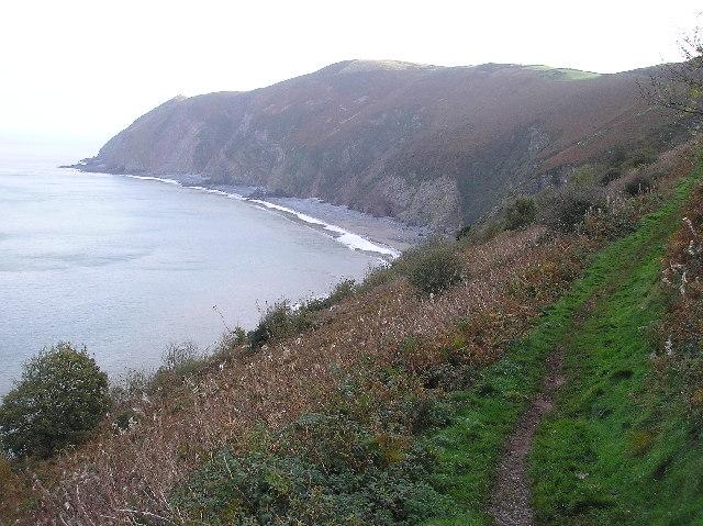 Foreland point, North Devon