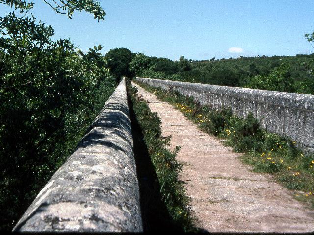 Top of Treffrey's viaduct