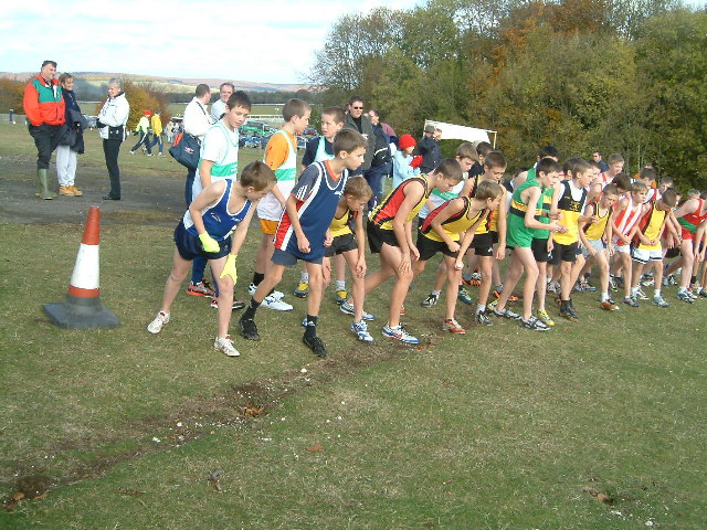 Cross country races near Goodwood