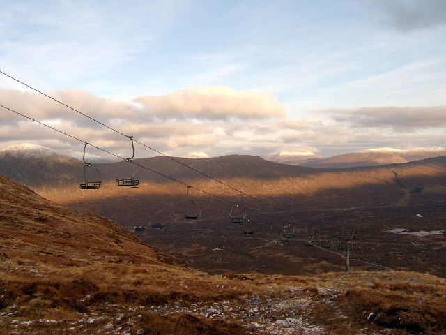 White Corries chairlift