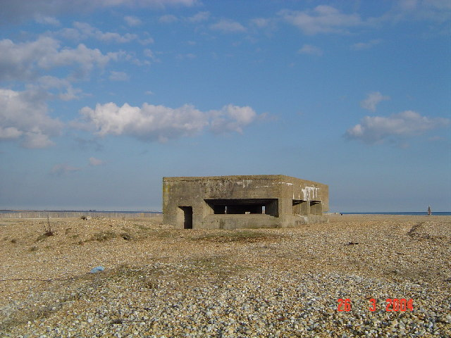 Pill box, Rye Harbour