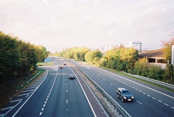 Junction 9A, A404M, Maidenhead