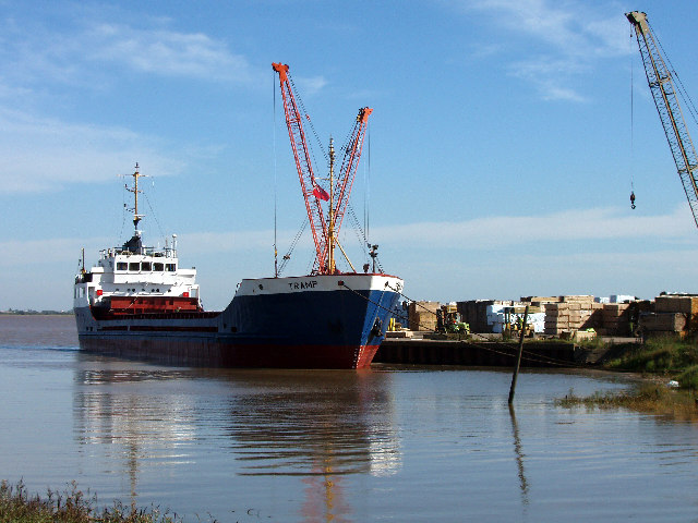 """Tramp"" Discharging"