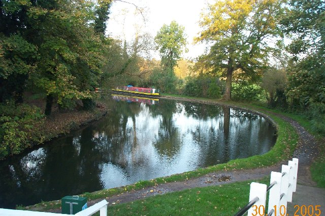 Grand Union Canal: near Grove Mill Lane bridge, Watford