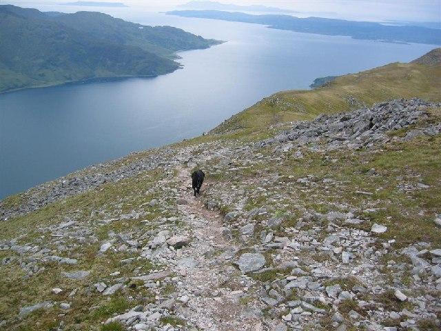 Ben Sgritheall's Eastern Ridge