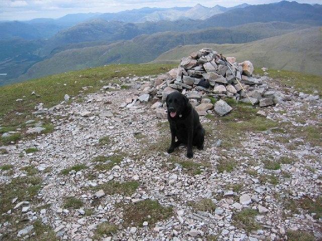 Cairn, Ben Sgritheall, Eastern Top