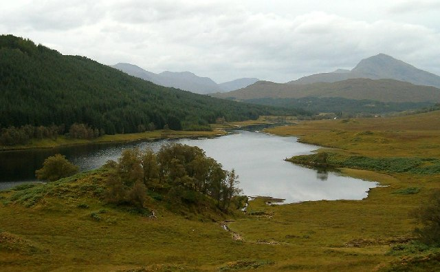 Loch Poulary in Glen Garry
