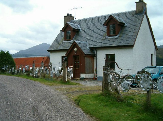 The Collector's House, Inchlaggan, Glen Garry