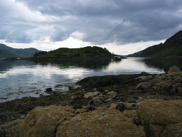 Eilean Rarsaidh, Loch Hourn
