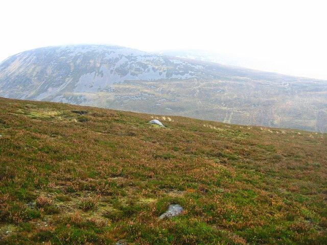 Across Gleann Mhairc.