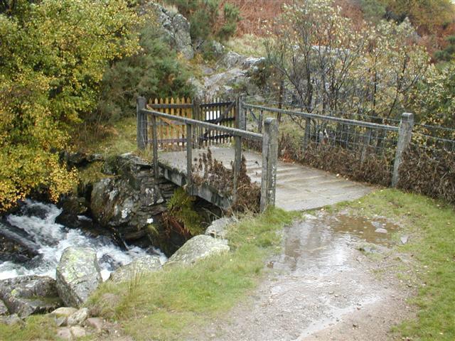 Footbridge Over Measand Beck