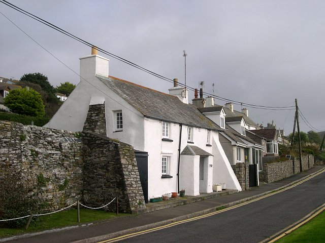 Houses on the Seafront Road