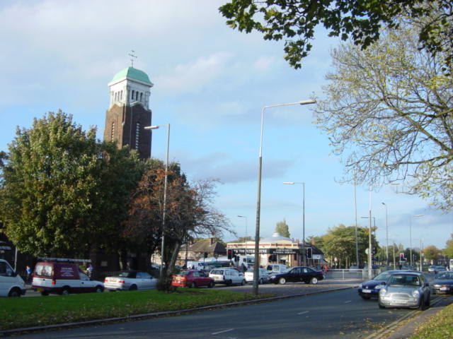Junction of Queens Drive and Townsend Lane