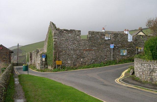 The old fish cellars, Portwrinkle