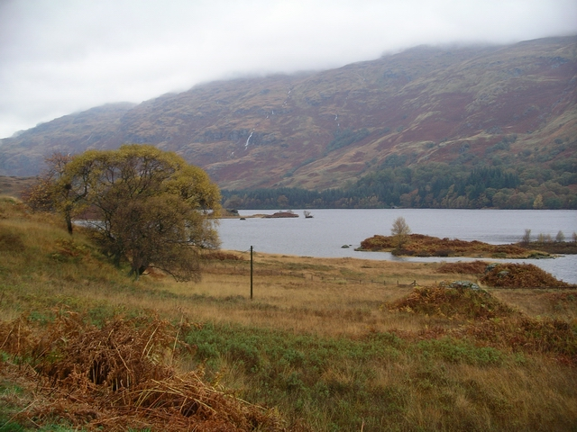 Roadside view, Loch Katrine