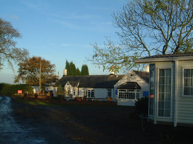 Ellington Caravan Park office and cottage