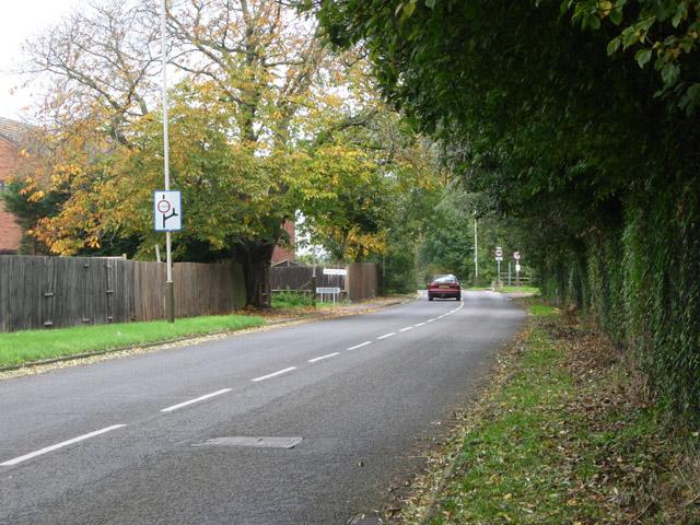 Barkby Thorpe Road, near Thurmaston, Leicester