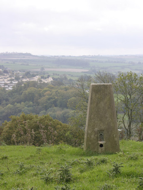 Trig point, Weston, Bath, Somerset