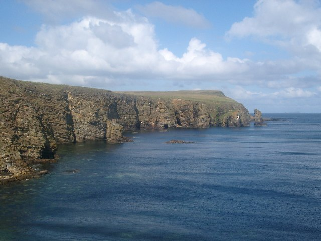 Clett of Crura and north side of Wind Wick, Orkney