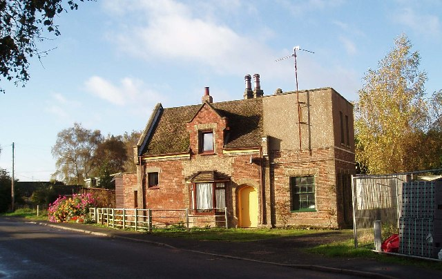 The former Smeeth Road Station, Marshland St James.