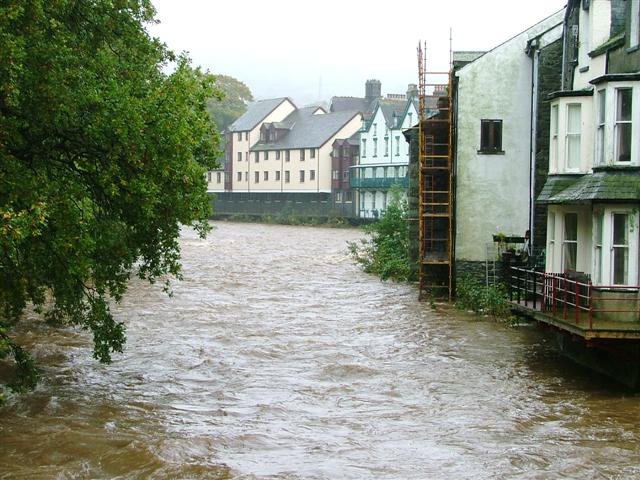 River Greta in Full Flood