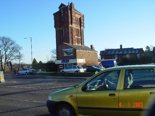 Victorian water tower, Penwortham