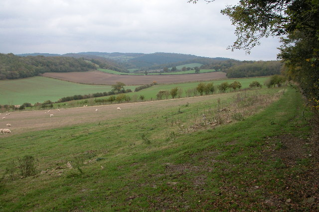 View down the valley to Winslow Mill