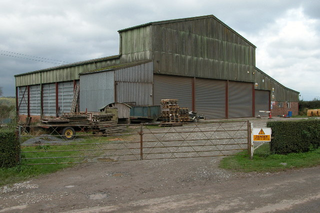 Farm building near Canon Frome