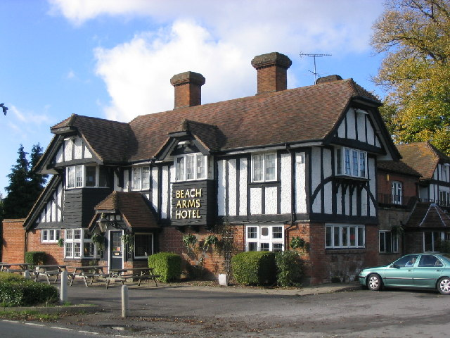 Beach Arms Hotel at Oakley near Basingstoke