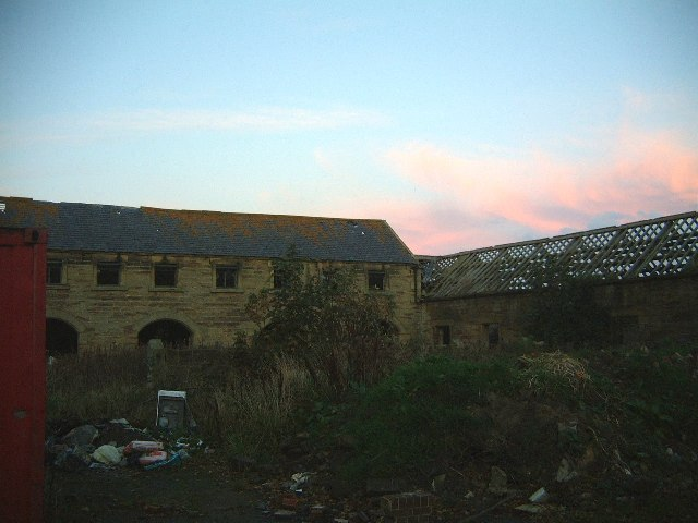 Cresswell Home Farm buildings