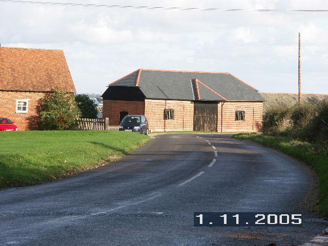 Farm buildings at Ower, Nr Calshot, Hants