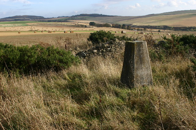 Hill of Canterland trig