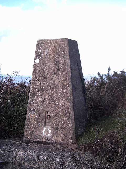 Trig Point: Fatacott Cliff