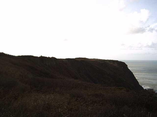 Fatacott Cliff