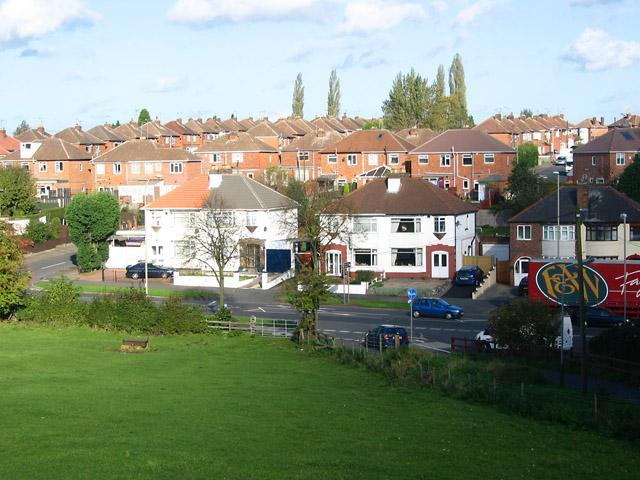 Housing off Anstey Lane