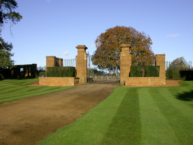 Main Gates of Upton House