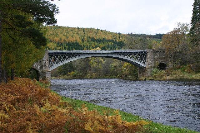 Bridge over the River Spey at Carron