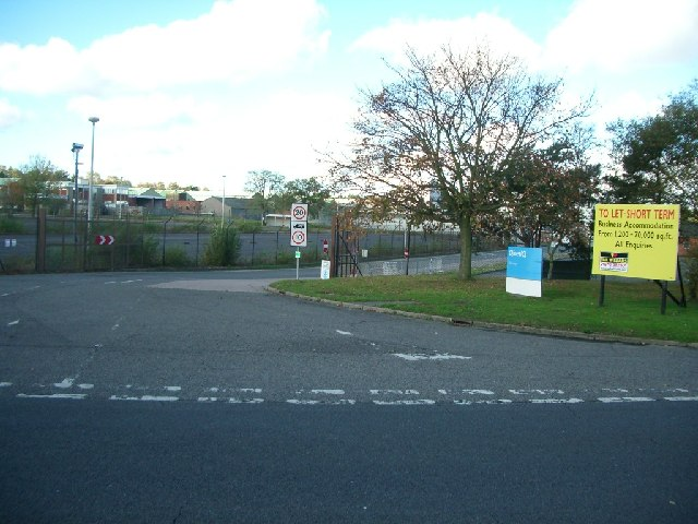 Entrance to MOD Chertsey