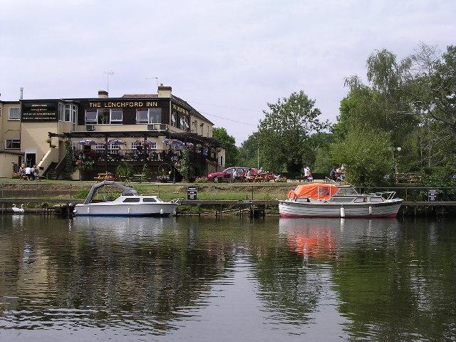 Lenchford Inn, River Severn