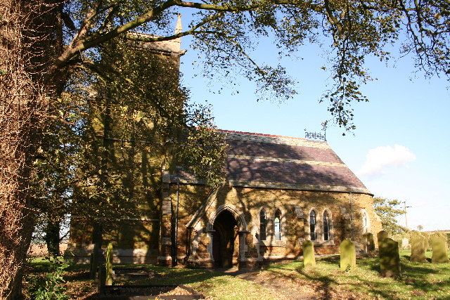 All Saints' church, Sixhills, Lincs.