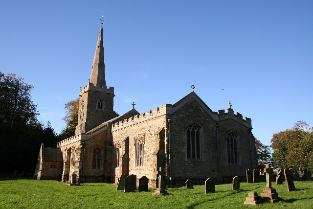 St.Mary's church, Hainton, Lincs.