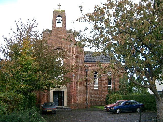 St Barnabas Church.