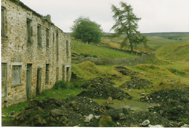 Barneycraig Level and Mine Buildings