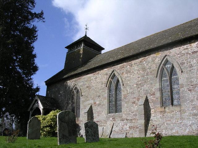Brinsop church