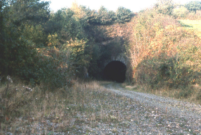 Disused railway  tunnel entrance