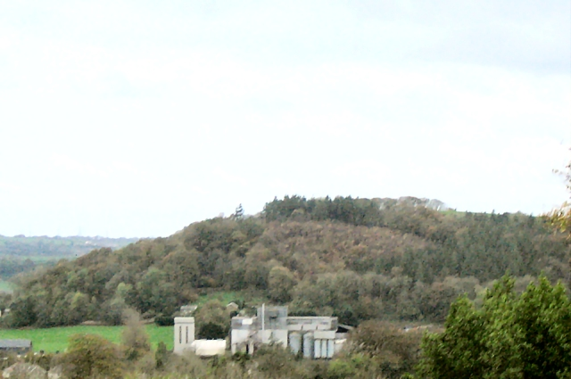 Hill in Johnstown, Carmarthen