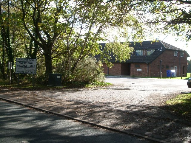 West End village hall
