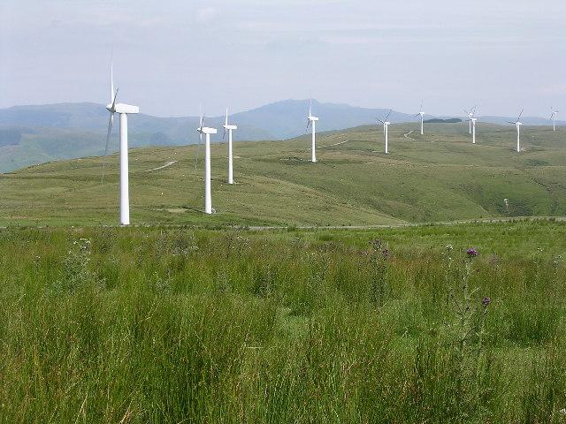 Wind farm, Mynydd y Cemais