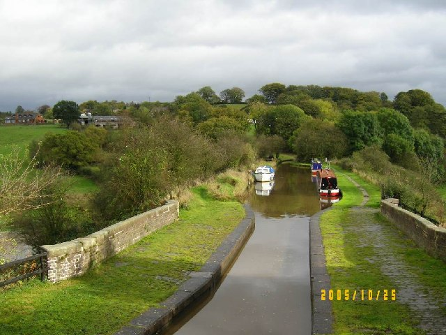 Hazelhurst Aqueduct from above
